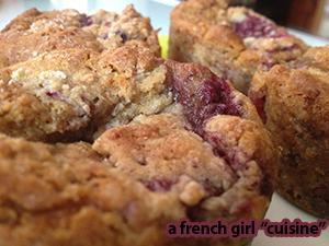 Raspberries Muffins