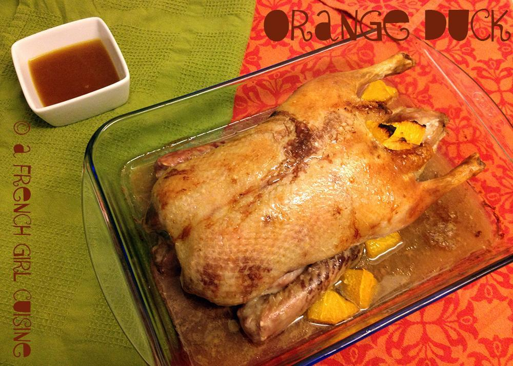 Orange Duck Recipe