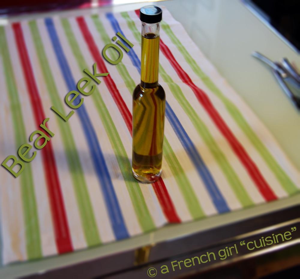Bear Leek Oil Recipe