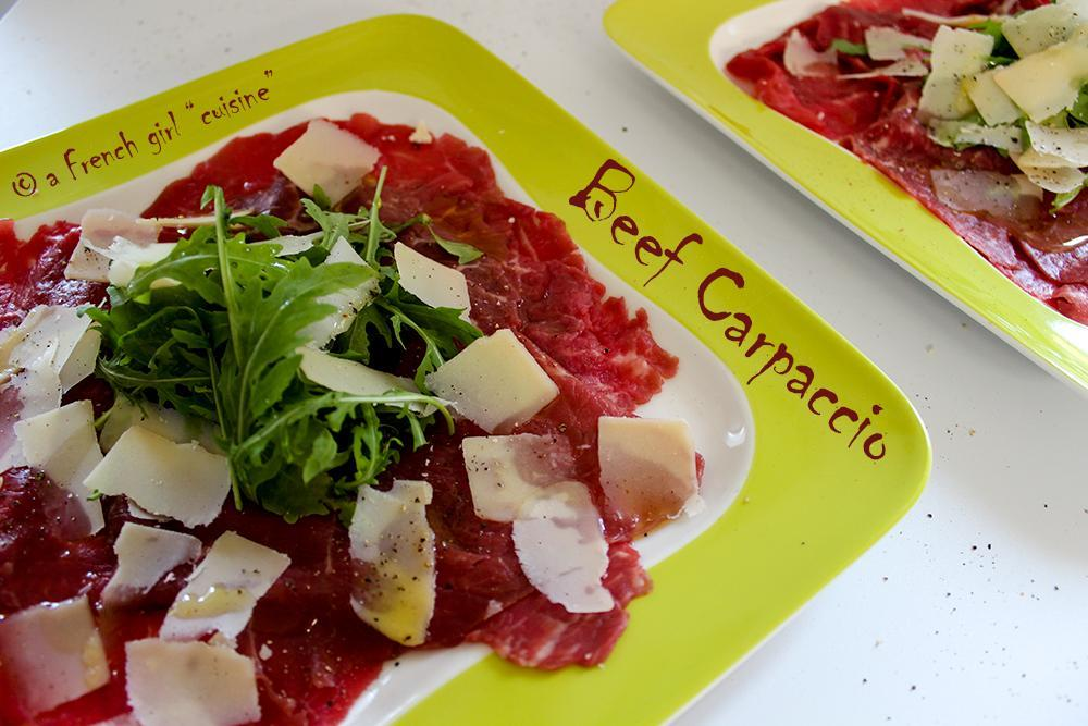 Beef Carpaccio Recipe!