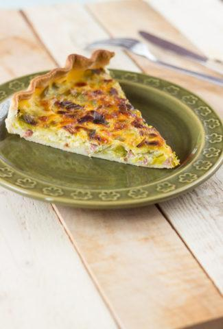 French leek tart recipe