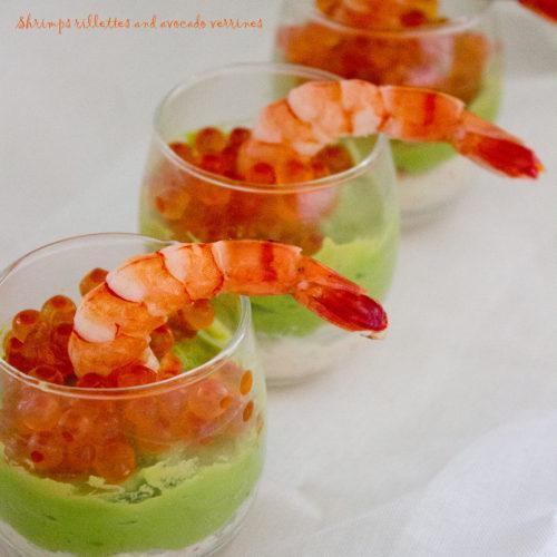 Shrimps Rillettes and Avocado Verrines Recipe