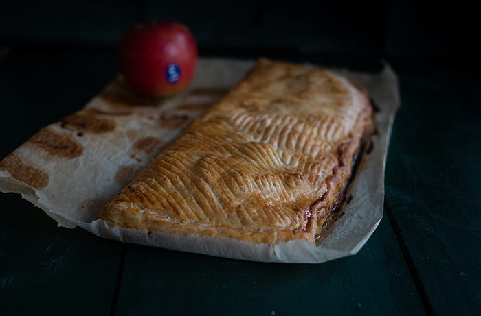 French Auvergnate apple JAZZ pie crust