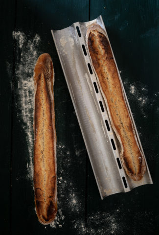 French sourdough baguettes recipe