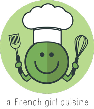 New logo a French girl cuisine