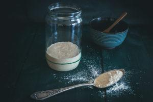 Alfred II or how to make sourdough starter from scratch?