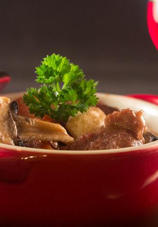 Beef bourgignon recipe