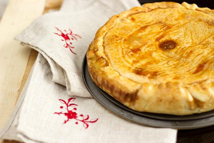 Beer-braised beef pot pie recipe