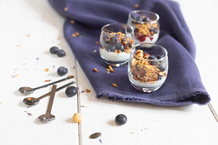 Blueberry Bircher Muesli