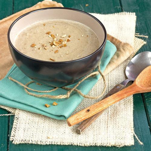Bolete mushrooms soup recipe