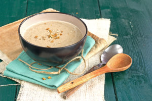 Bolete mushrooms soup recipe