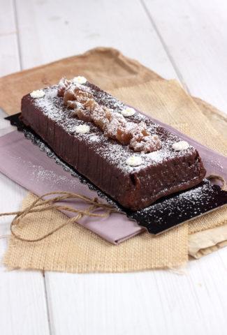 Le cake au chocolat et aux marrons de la copine d'Aurélie