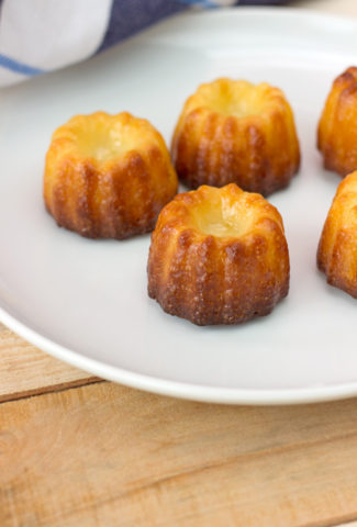 Original Canneles recipe from Bordeaux