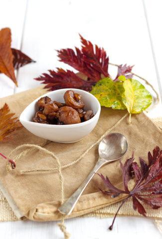 Caramelised Chestnuts