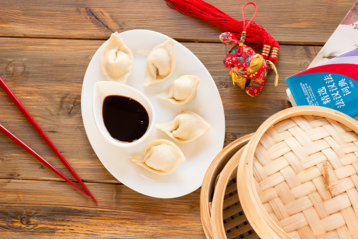 Chinese dumpling or JiaoZi 饺子