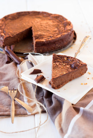 Chocolate cake without flour