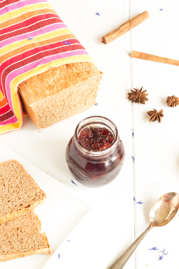 Confiture de prunes aux épices douces