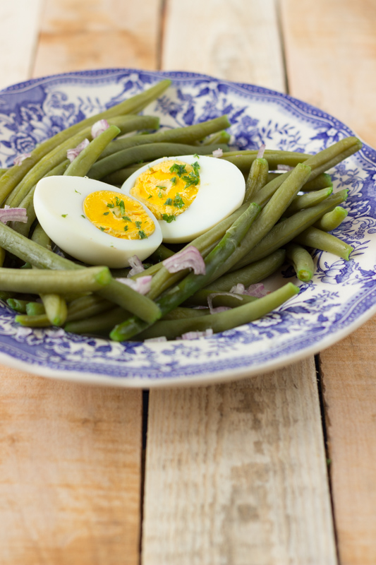French green beans salad