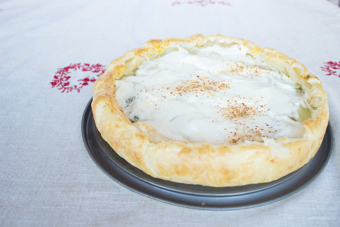 French traditional potato pie