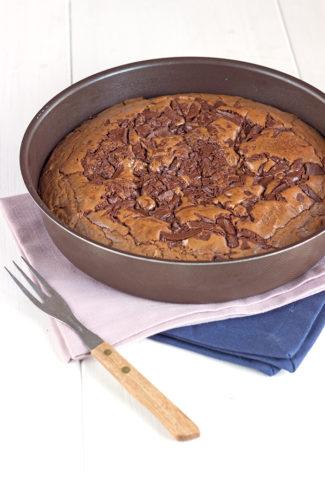 Gâteau fort en chocolat