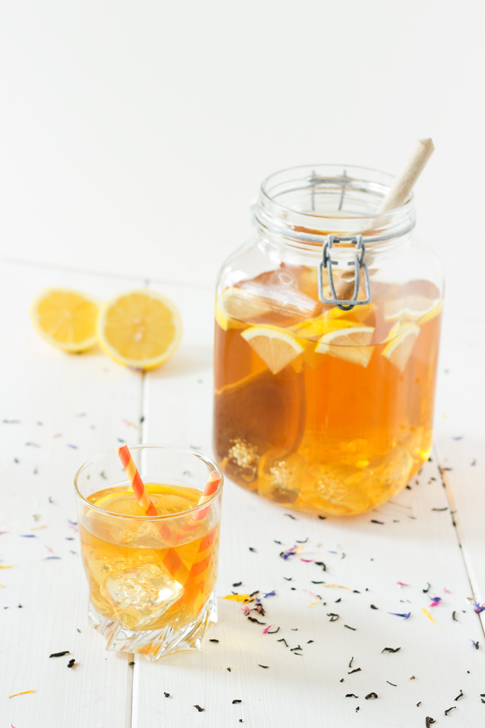 Home made lemon ice tea recipe