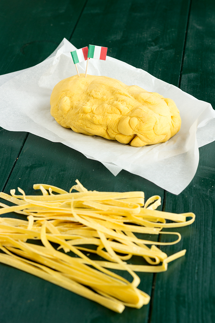 Homemade fresh pasta recipe