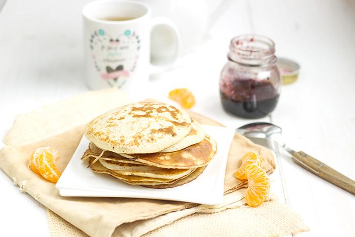 Julie's mini crepe or sourdough pancakes