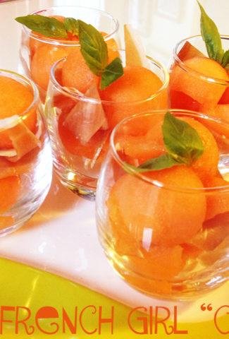 Melon & Cured Ham Verrine