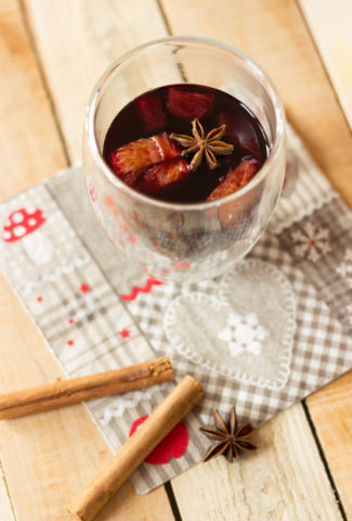 Mulled red wine recipe