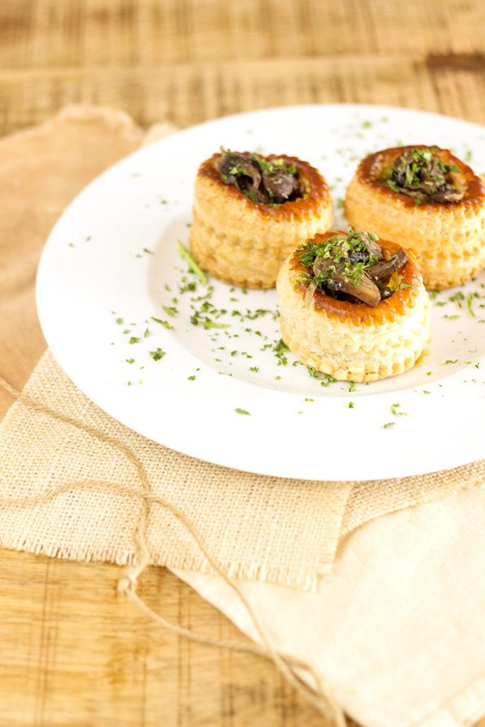 Mushroom Vol-au-vent recipe