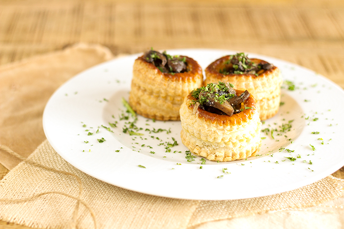 Mushroom Vol Au Vent Recipe A French Girl Cuisine French Cooking
