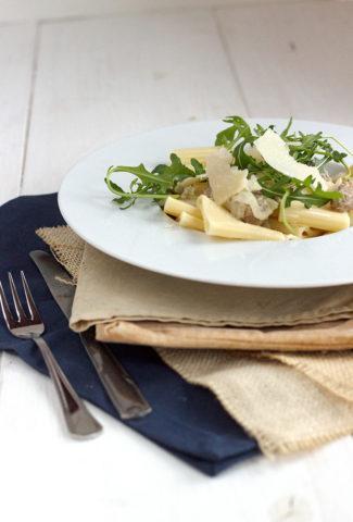 Paccheri Nusco or truffle pasta