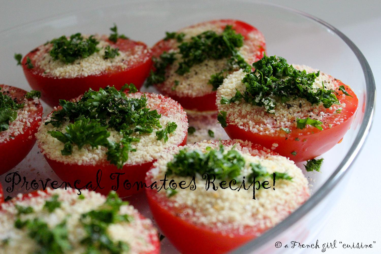 Provençal Tomatoes Recipe