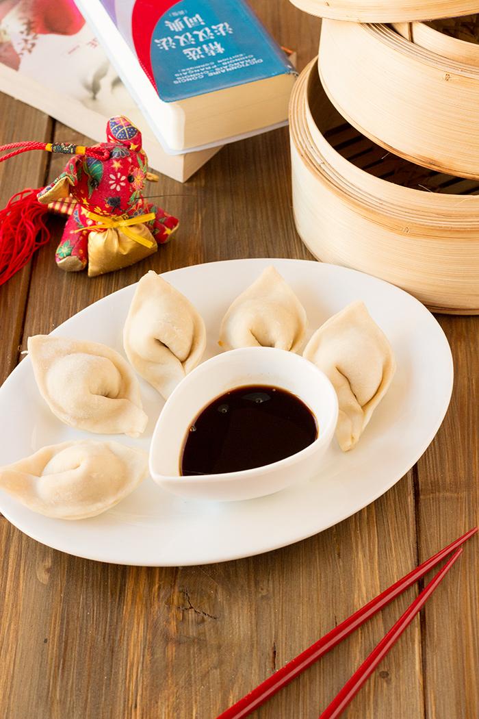Raviolis chinois ou JiaoZi 饺子