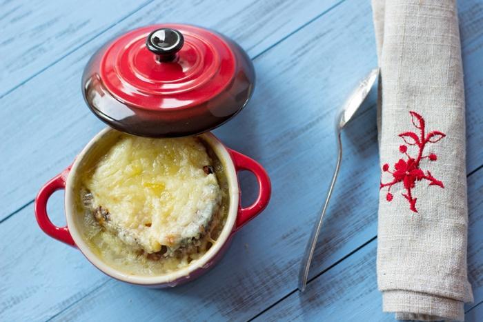 La recette de la soupe à l'oignon