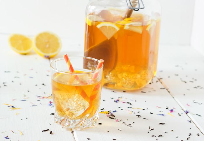 Recette thé froid citron maison