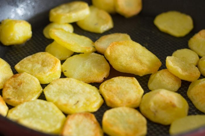 The roasted potatoes of Marie Lou