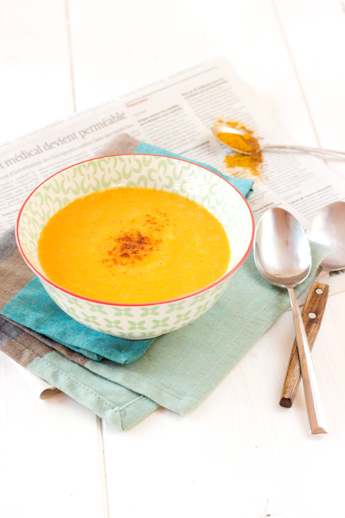 The spicy pumpkin soup of Hugo