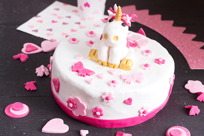 Admirable Unicorn Birthday Cake Cake Design A French Girl Cuisine Birthday Cards Printable Opercafe Filternl