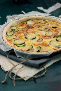 Zucchini tart recipe